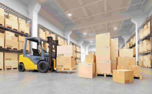 Складская обработка и хранение на конечных и промежуточных складах